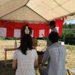 三重県桑名市森忠 H様邸地鎮祭
