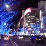 名古屋市栄のイルミネーション