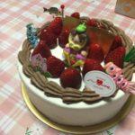 🏠にて、私の誕生日🎂