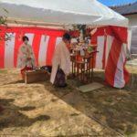 東広島市K様邸地鎮祭に行ってきました!